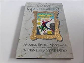 Lee,Stan. Ditko,Steve. - Marvel Masterworks: Amazing Spider-Man 1-10 & Amazing fantasy n.15.